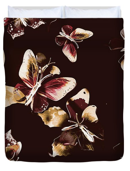 Abstract Butterfly Fine Art Duvet Cover