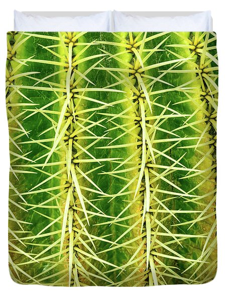 Abstract Cactus Duvet Cover