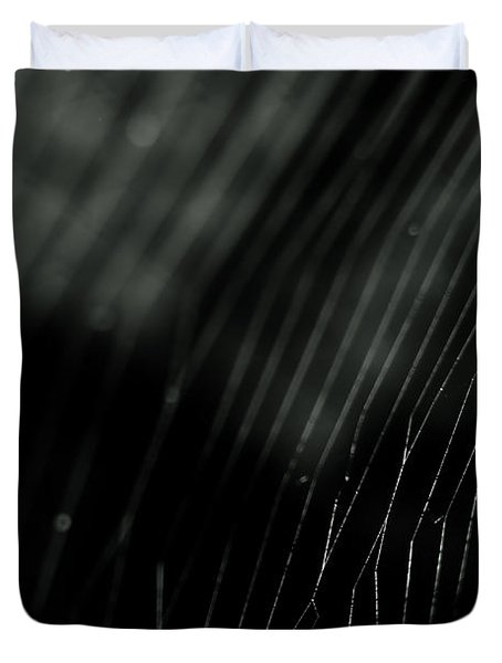 Abstract Cobweb Duvet Cover
