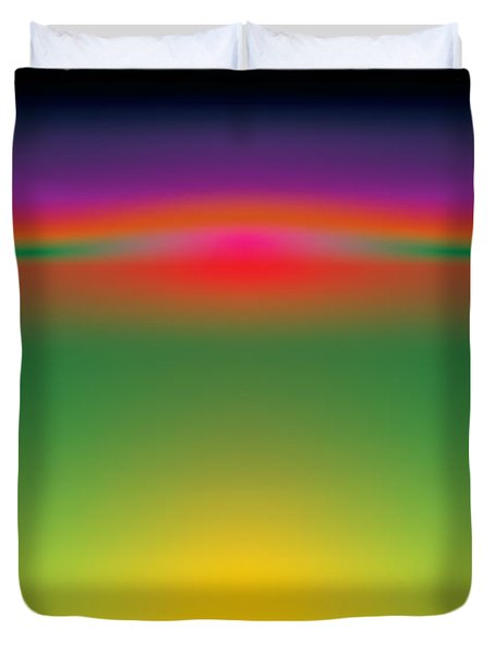 Abstract Color  Duvet Cover