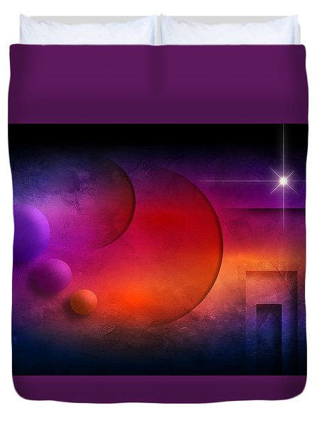Abstract Colors And Shapes  Duvet Cover