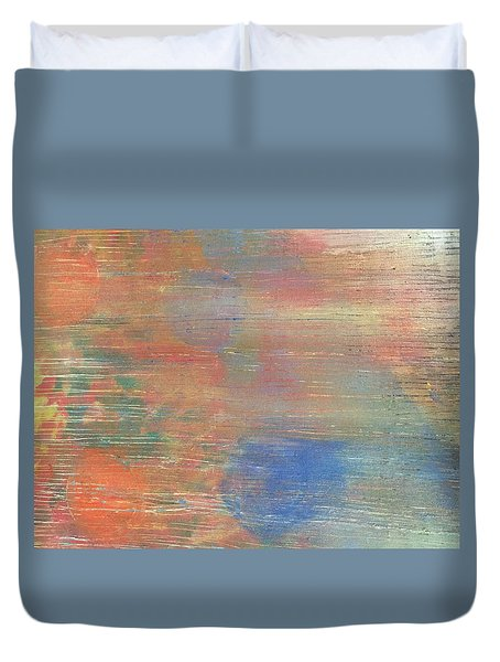 Abstract Confetti 3 Duvet Cover