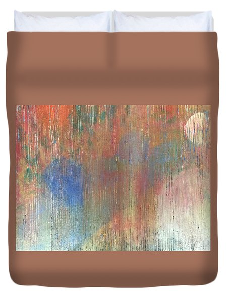 Abstract Confetti 4 Duvet Cover
