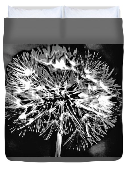 Abstract Dandelion Duvet Cover