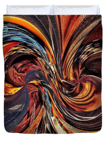 Abstract Delight Duvet Cover