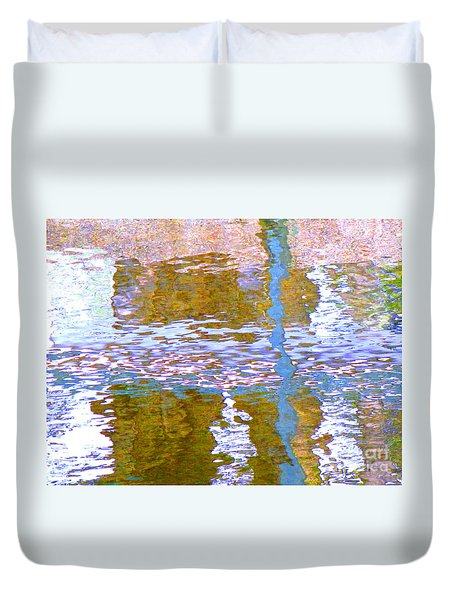 Abstract Directions Duvet Cover