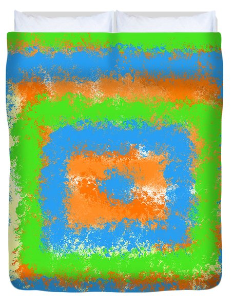 Abstract Drama Duvet Cover
