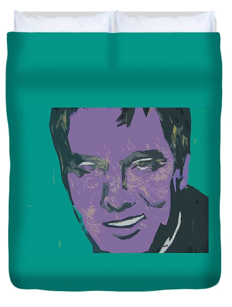Abstract Elvis Duvet Cover