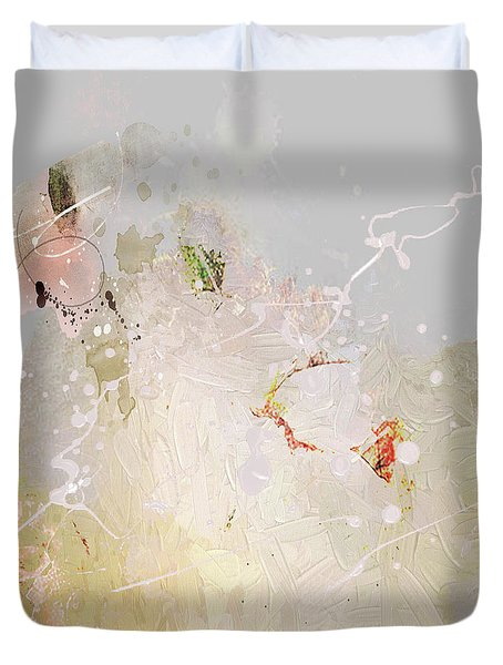 Abstract Fantasy Square Duvet Cover