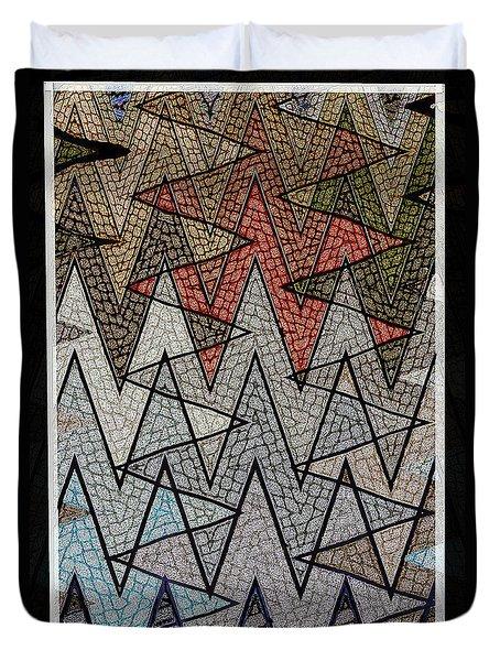 Abstract Floor  Duvet Cover