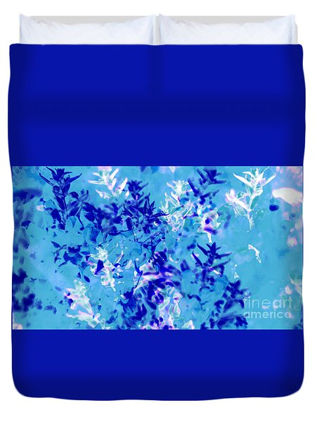 Abstract Floral No.1 Duvet Cover