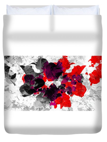 Abstract Floral No.3 Duvet Cover