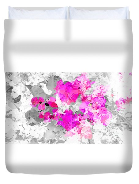 Abstract Floral No.4 Duvet Cover