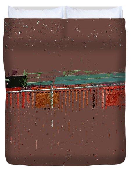 Abstract For Viv Duvet Cover by Lenore Senior
