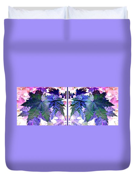 Abstract Fusion 277  Duvet Cover by Will Borden