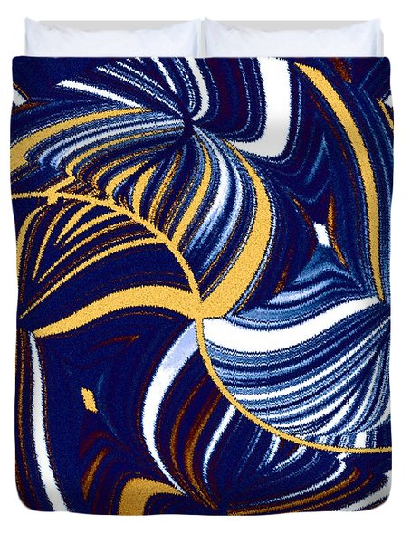 Abstract Fusion 279 Duvet Cover