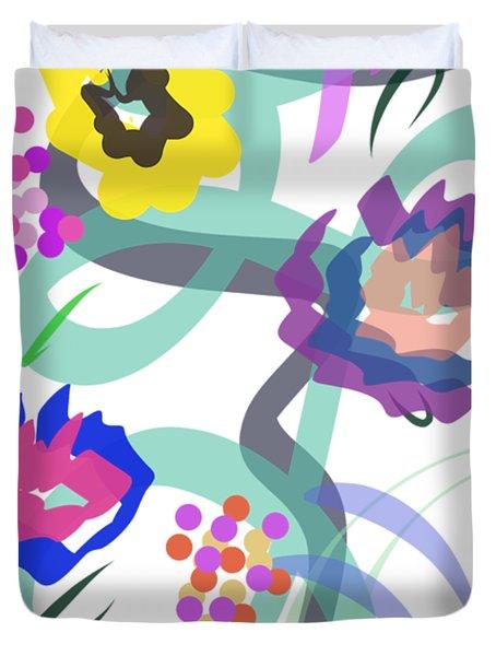 Abstract Garden Nr 4 Duvet Cover