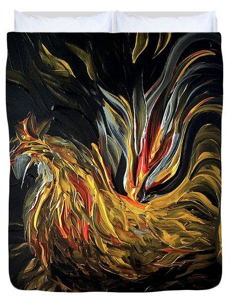 Abstract Gayu Duvet Cover