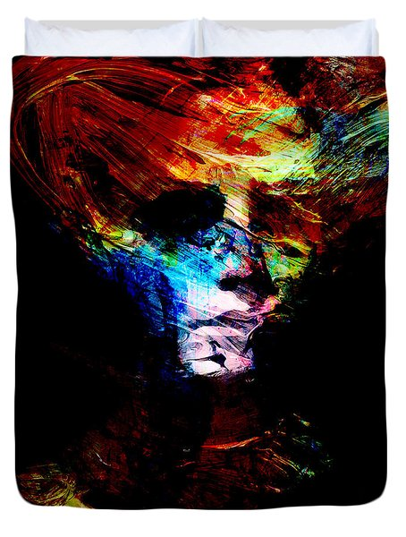 Abstract Ghost Duvet Cover