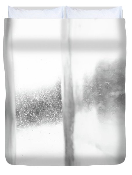 Abstract Glass Study 3 Square Duvet Cover