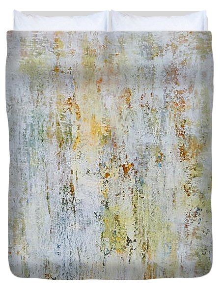 Abstract Grassland Duvet Cover