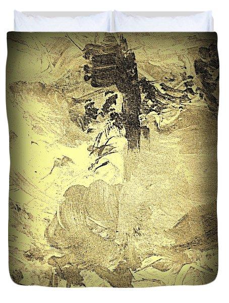 Ancient Melodies Duvet Cover