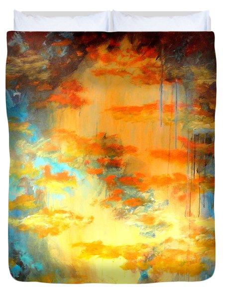 Heaven Seven Duvet Cover