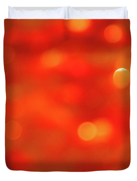 Abstract Honey Cakes Duvet Cover