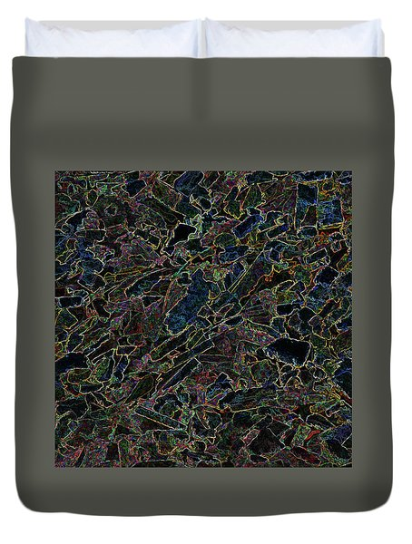 Duvet Cover featuring the photograph Abstract II by Lewis Mann