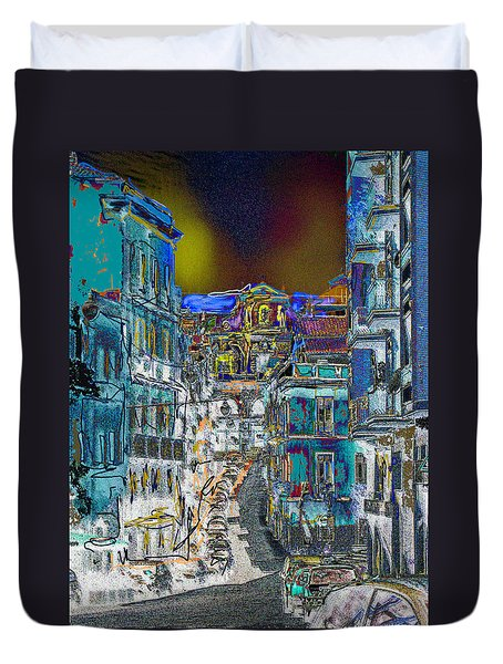Abstract  Images Of Urban Landscape Series #11 Duvet Cover