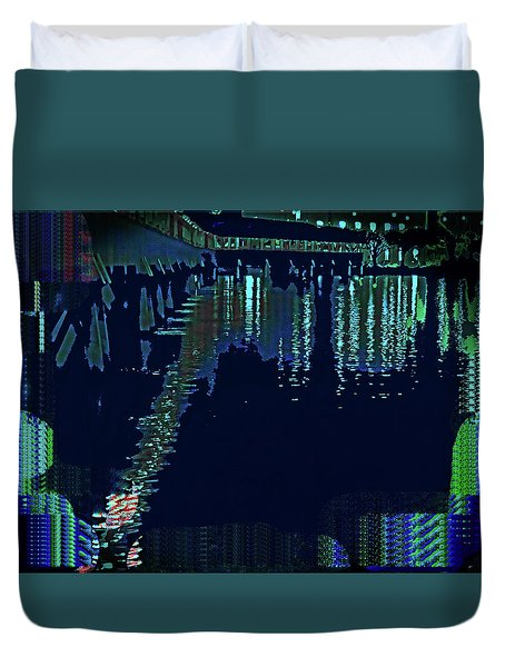 Abstract  Images Of Urban Landscape Series #7 Duvet Cover