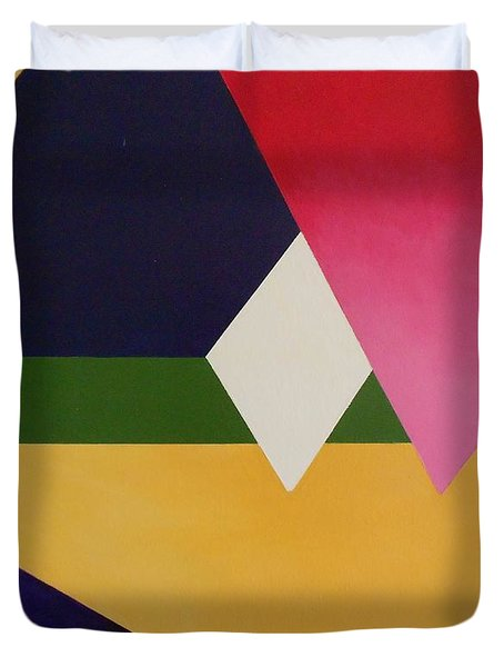 Abstract Duvet Cover by Jamie Frier