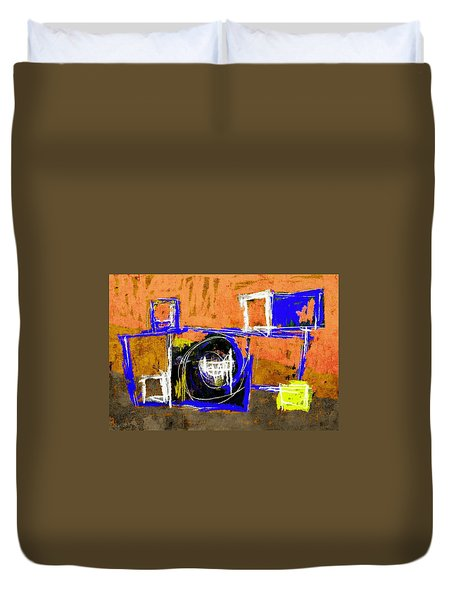 Abstract July 27 2015 Duvet Cover by Jim Vance