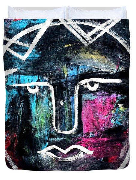 Abstract King - Original Robert Erod Art Duvet Cover