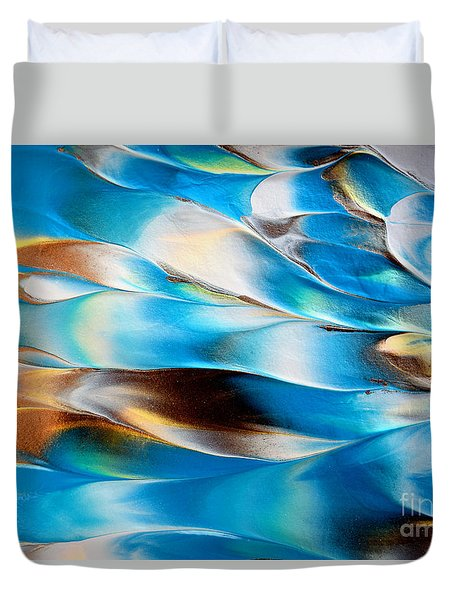 Abstract L1015al Duvet Cover
