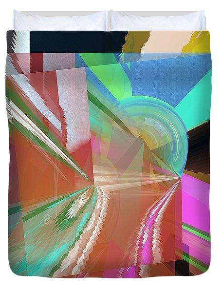 Abstract Light Duvet Cover