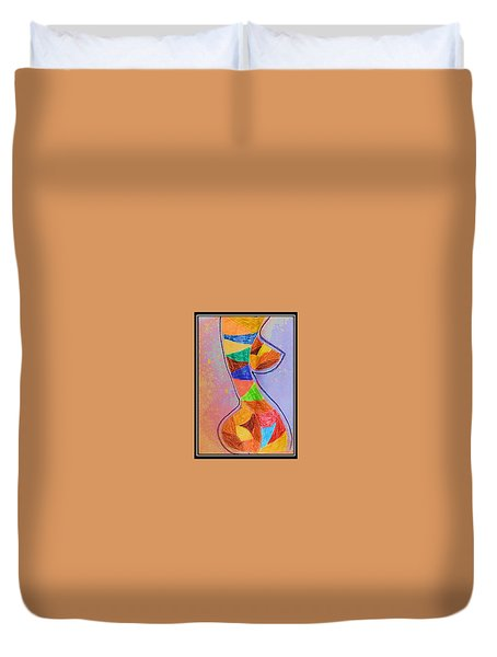 Abstract Love Duvet Cover