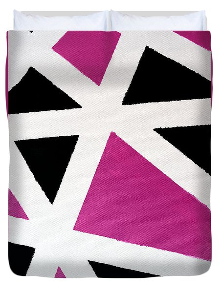 Abstract M1015bp Duvet Cover
