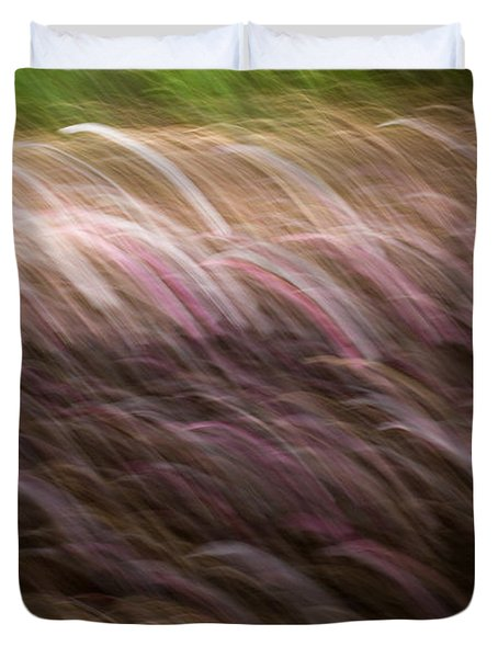 Abstract Magnolias 2 Duvet Cover