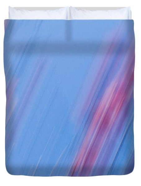 Abstract Magnolias Duvet Cover