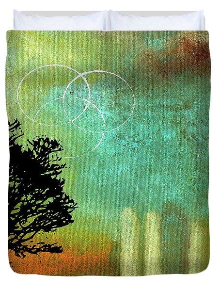 Abstract Modern Art Eternity Duvet Cover