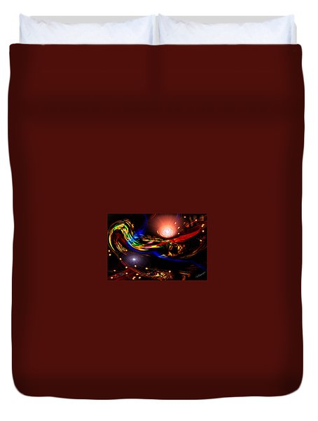 Abstract Mood Duvet Cover