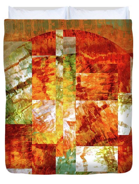 Abstract No. 79-1 Duvet Cover