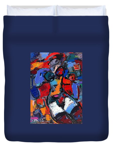 Abstract Nude 05 Duvet Cover