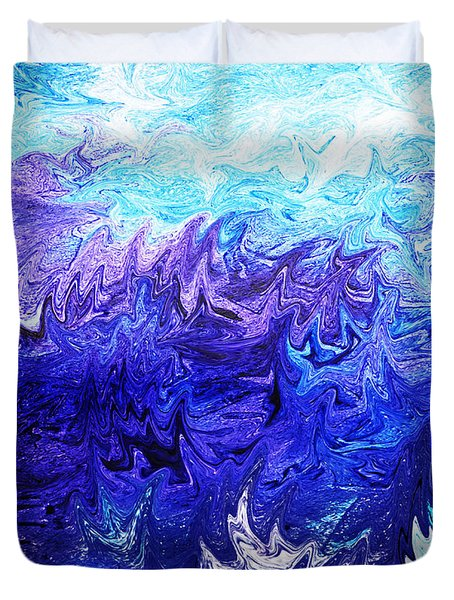 Abstract Ocean Fantasy Four Duvet Cover