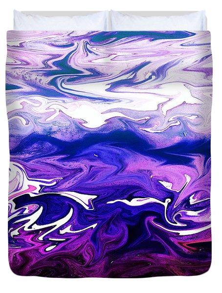 Abstract Ocean Fantasy One Duvet Cover