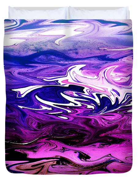 Abstract Ocean Fantasy Two Duvet Cover