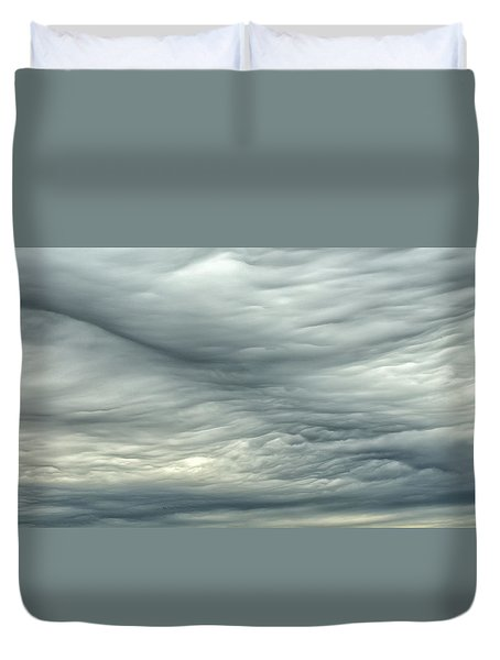 Abstract Of The Clouds 2 Duvet Cover