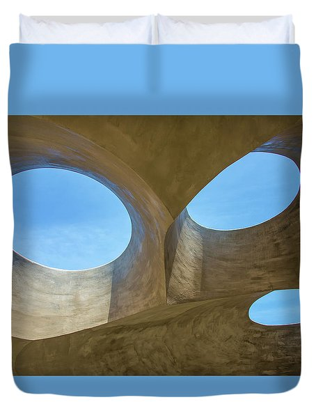 Abstract Of The Roof Duvet Cover