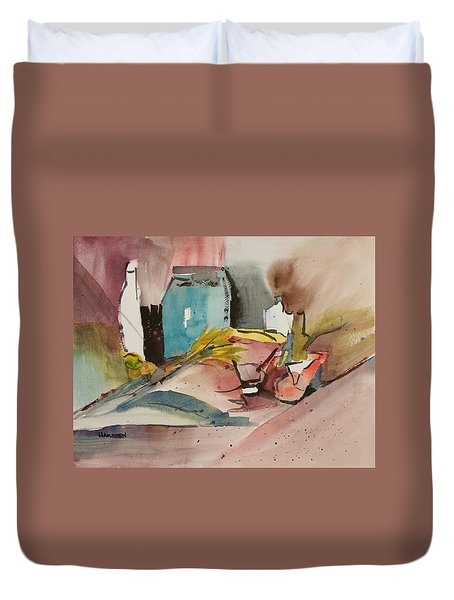 Abstract Opus 3 Duvet Cover